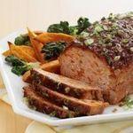 Diva Diabetic's Tex-Mex Turkey Meatloaf #recipes #meat