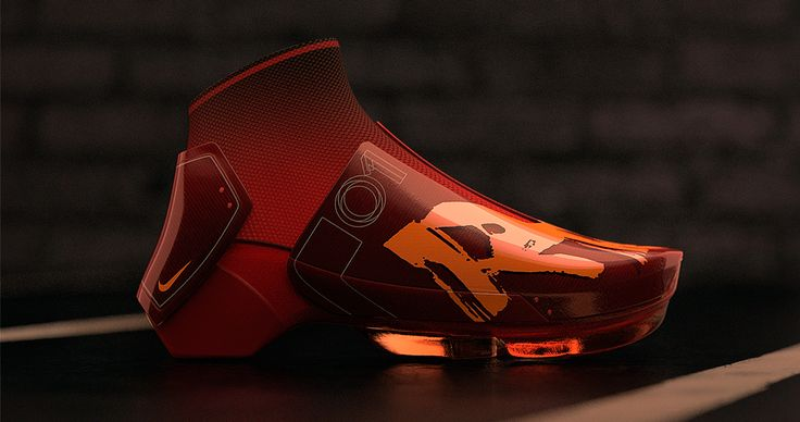 Nike RR 2030 Concept rendered in KeyShot by David Olivares.