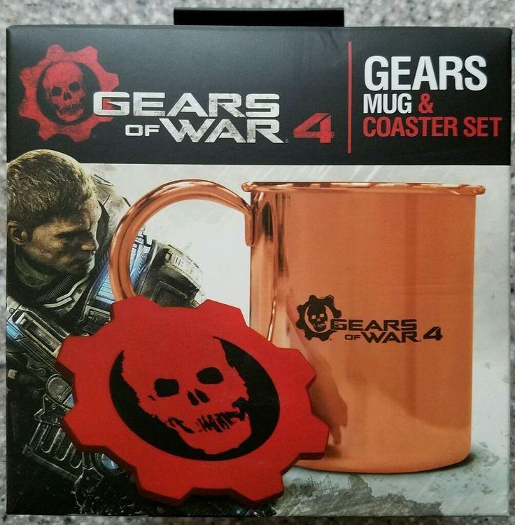 Gears Of War 4 Mug & Coaster Set Xbox One-Sealed