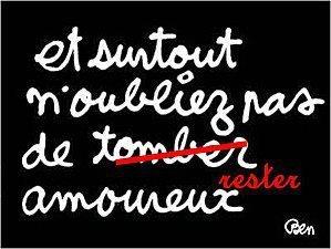 ...et pourquoi pas , MONTER Amoureux ou MONTER en Amour ! ! !
