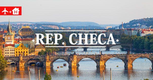 Ofertas Vuelo + Hotel República Checa