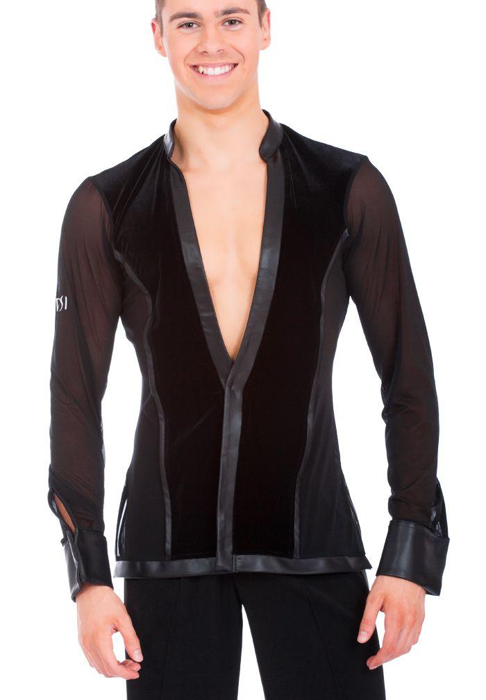 DSI Kieran Latin Dance Shirt 4054| Dancesport Fashion @ DanceShopper.com