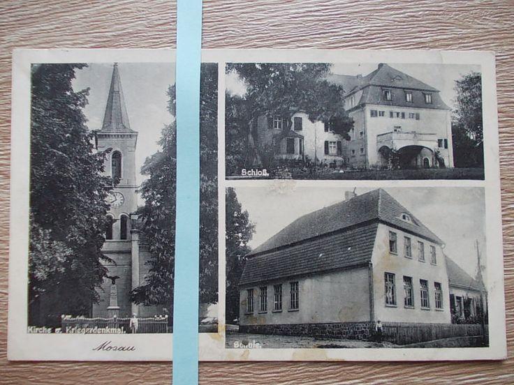 Mozów k. Sulechów Zielona Góra pałac