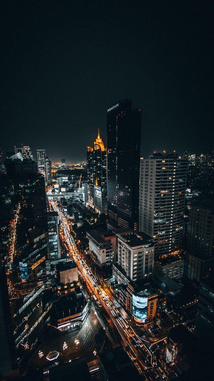 Картинки для телефона ночной город