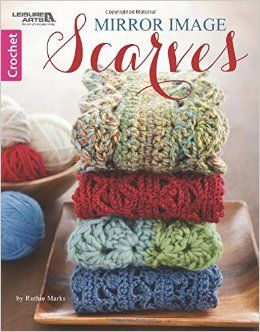 19 best helpful resources for crafting images on pinterest crochet creating beautifully symmetrical scarves is easy with the designs in mirror image scarves from leisure arts fandeluxe Images