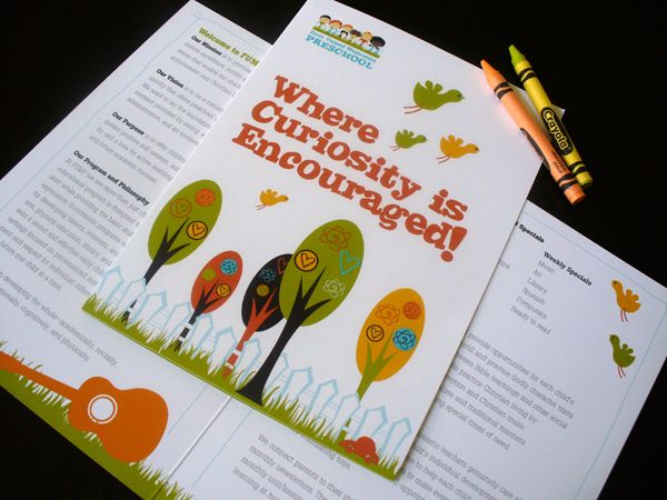 Best Early Childhood Marketing Images On   Brochure