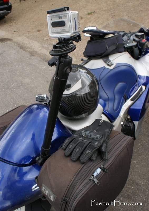 ram mount arm for gopro pashnit motorcycle tours http. Black Bedroom Furniture Sets. Home Design Ideas