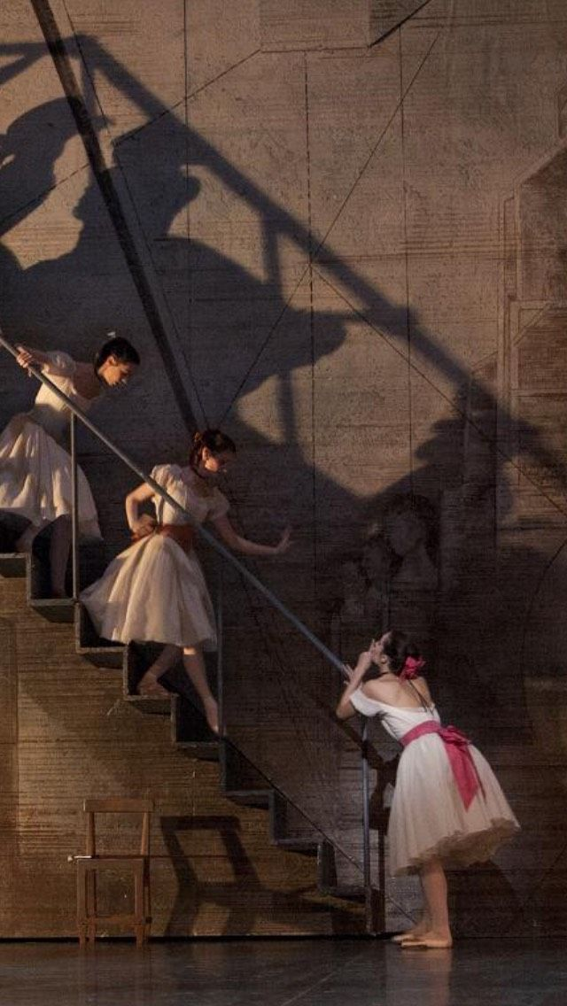 Dancers of Paris Opera Ballet in Coppelia Photo by Sebastien Mathe