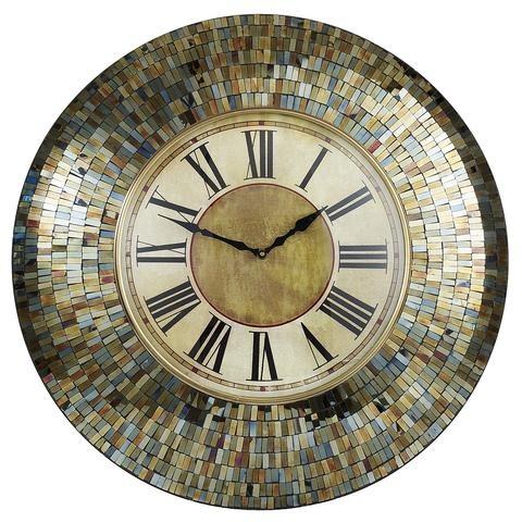 Amber Mosaic Clock Pier 1 Imports Pier 1 Imports