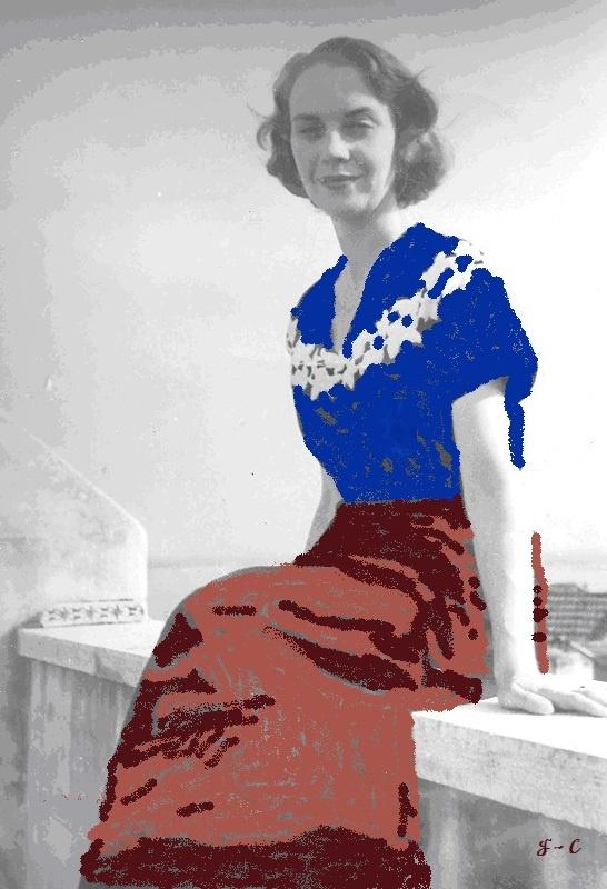 Sophia de Mello Breyner Andresen - Documentário, ao clicar na pintura...