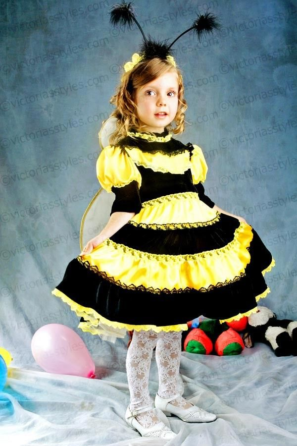 Children Fancy Carnival Costume Bee 3639