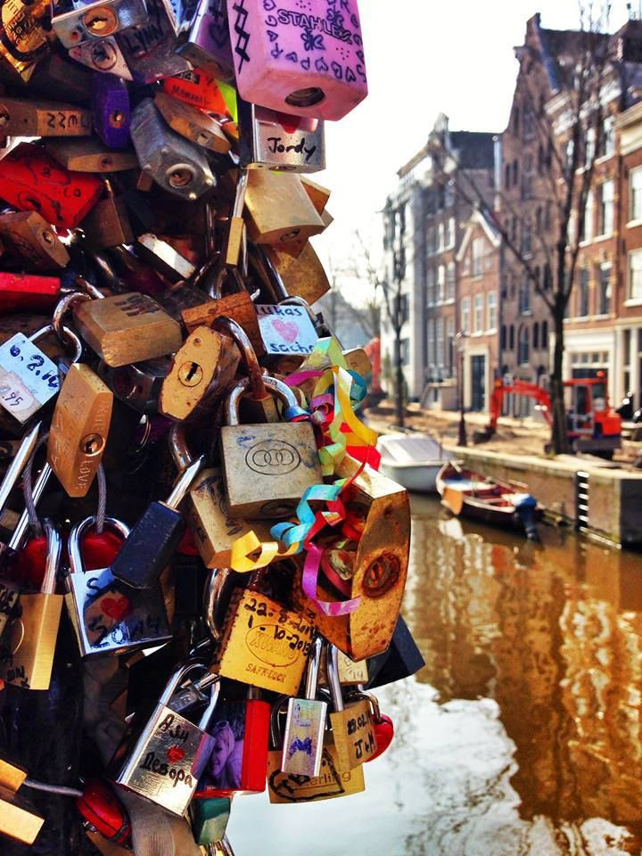 Amsterdam Love Lock Bridge