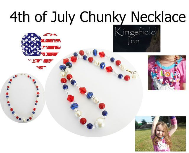 fourth of july bead crafts