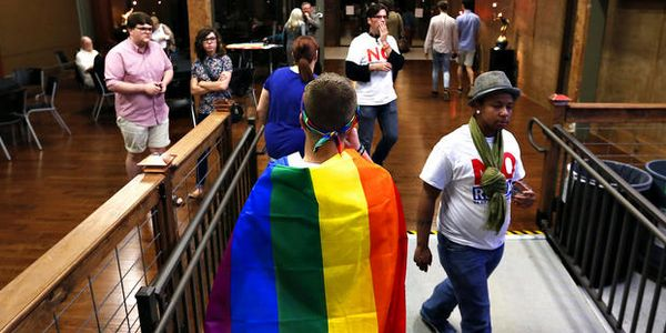 transgenders and the discrimination of homosexuals in american institutions One evidence of this is that most american adults now favor the legalization of same-sex marriage  homosexuals can change and leave the homosexual lifestyle.