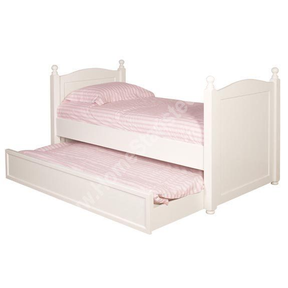 Home white trundle 3ft single bed pull out furniture beds and bed frames Home furniture single bed