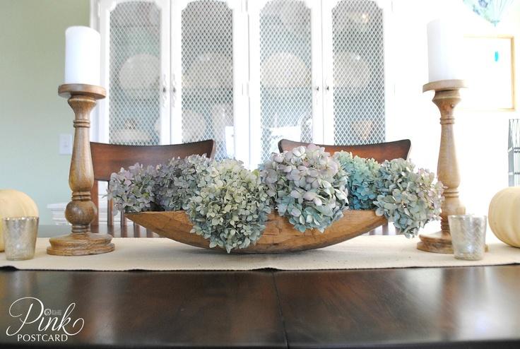 Best 25 dough bowl ideas on pinterest concrete bath concrete bathtub and concrete tiles - French country table centerpieces ...