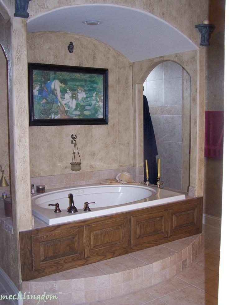 garden tub for the home pinterest garden tub tubs. Black Bedroom Furniture Sets. Home Design Ideas