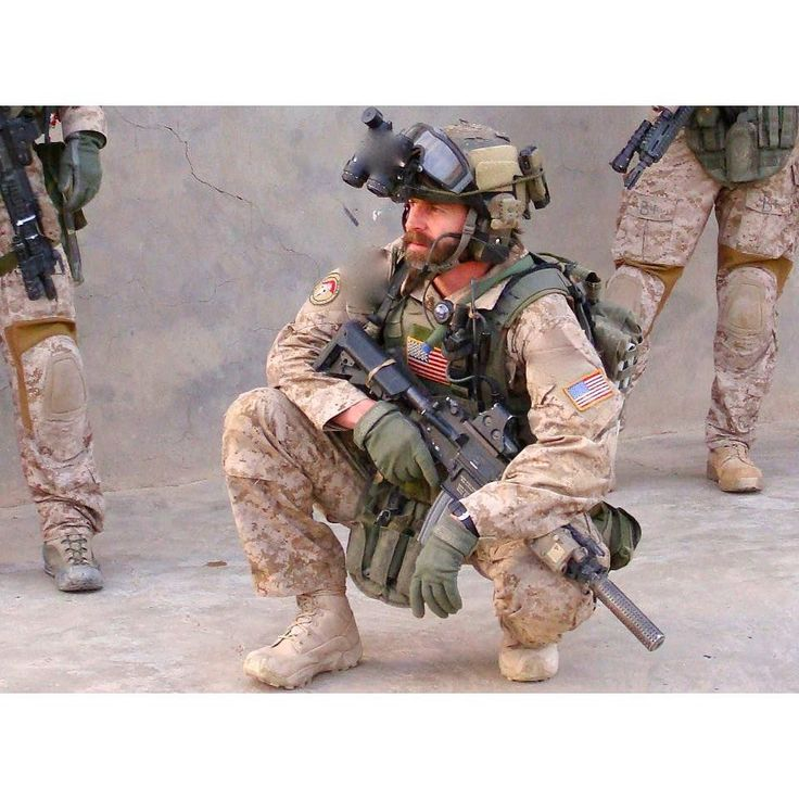 U.S Army CAG operator Tom Spooner in Iraq. Date Unknown [960 x 960]