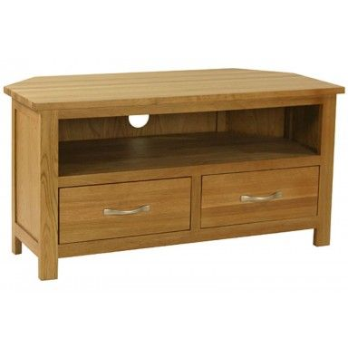 Carne Oak Corner TV Unit