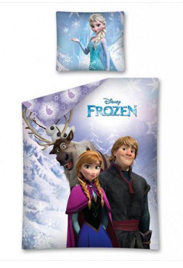 Παιδική Παπλωματοθήκη Disney FROZEN - Ψυχρά κι Ανάποδα Σετ Μονή Anna, Sven, Kristoff και Elsa - www.memoirs.gr