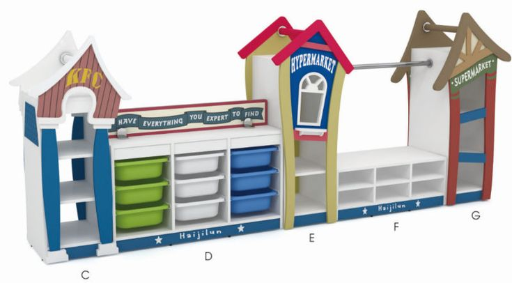 2015 New design kids play games toy cabinets reclaimed wood furniture teak wood furniture made in chuna QX-199B