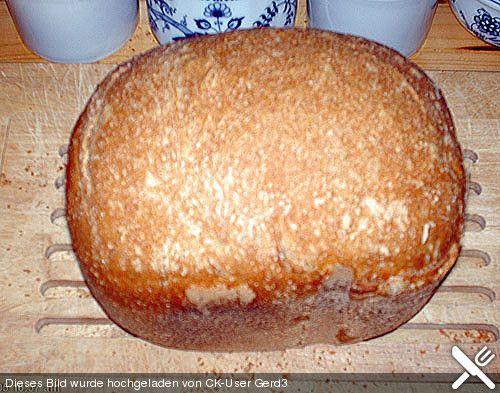 Dreikorn - Dinkelmischbrot für den Brotbackautomaten (Rezept mit Bild)   Chefkoch.de