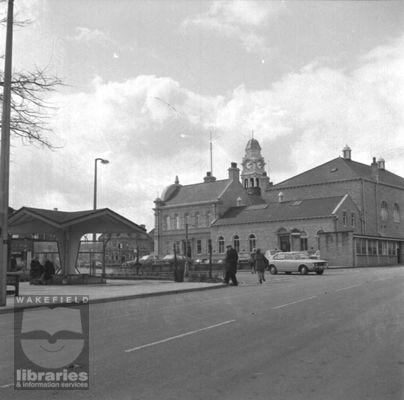 Ossett Town centre