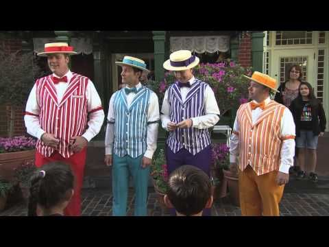 Dapper Dans Perform Boy Band Hits at Disney Parks for 'Limited Time Magic'... One Direction and Disney. My two favorite things. Ever.