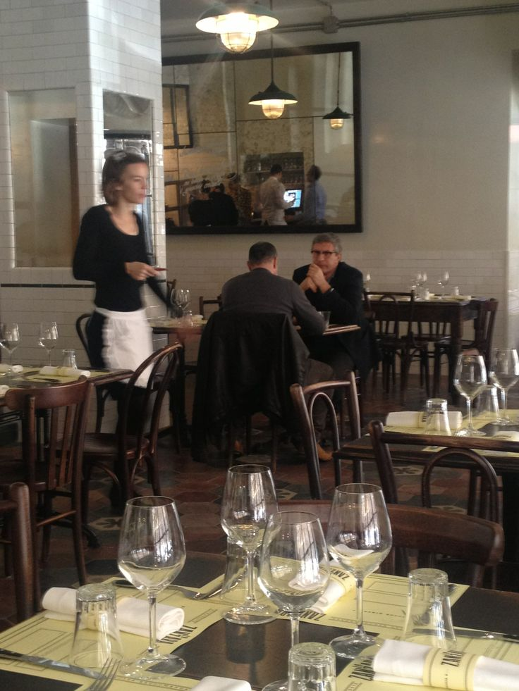 "Lunch time at ""La Zanzara"" Restaurant, Bistrot in Zona Prati, Roma design and made by RPM Proget www.rpmproget.it"