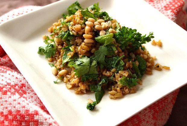 baked lentils with freekeh # kosher # organic tomato baked lentils ...
