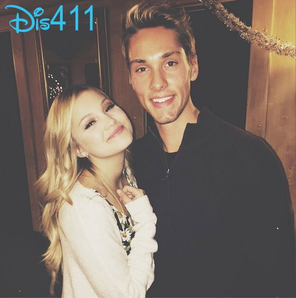 """Photo: Austin North Watched Olivia Holt In Pasadena Playhouse's """"Sleeping Beauty And Her Winter Knight"""" December 27, 2014"""