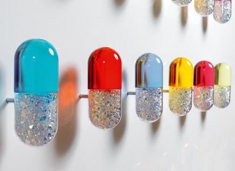Mauro Perucchetti. take a color pill.