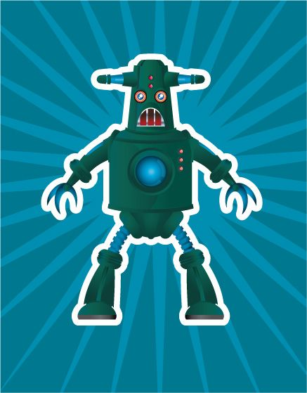 Character design: Robot 3