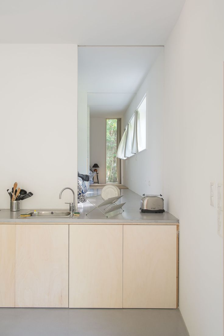 Kitchen top on floorlevel