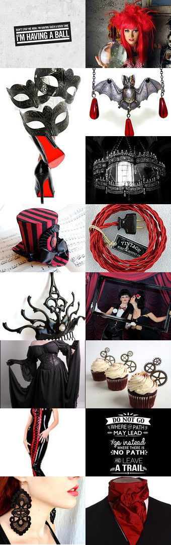 Queen Ralph #treasury by #plantedfeet on Etsy--Pinned with TreasuryPin.com #steampunk #gothic #christmas