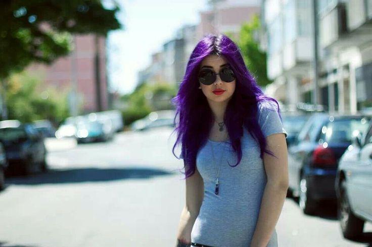 Plum Suicide alternative girl with purple hair   HAIR ...  Plum Suicide al...