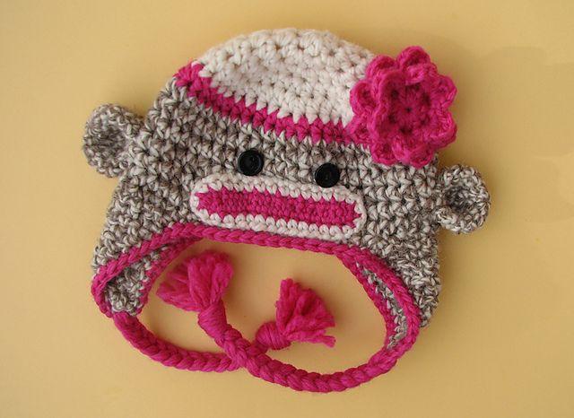 Crochet Sock Monkey Hat Pattern Craftbnb