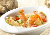 Vis - scampi on Pinterest | Met, Eten and Shrimp