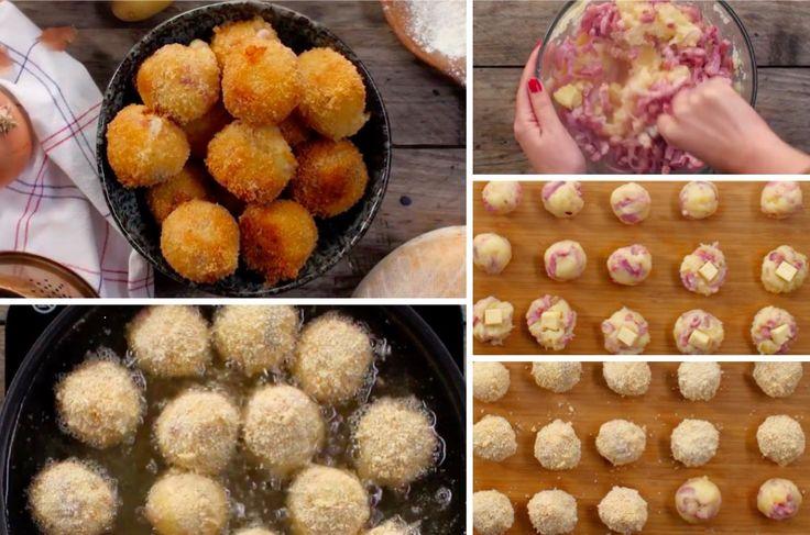 Les tarti'boulettes, le mélange parfait entre les boulettes et la tartiflette !