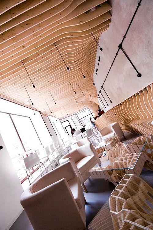 Zmianatematu Cafetaria XM3 06 furnime » Artistic Cafe Interior Designs: Zmianatematu Coffee Shop by XM3 post photo