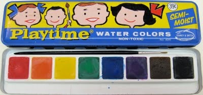 I loved to paint with watercolors: Water Paintings, Watercolor Paintings, Childhood Memories, 70S Kids, Awekid Paintings, Awe Kids Paintings, Water Color, Memories Lane, Tins Boxes