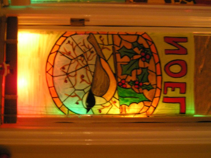2008 Stained glass Turtle Dove