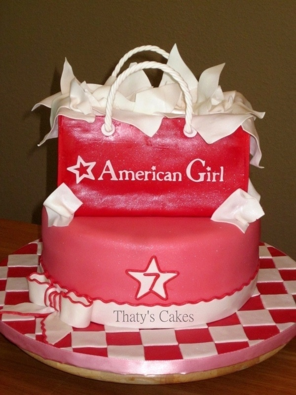 american girl cakes