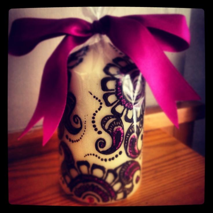 Mehndi Candles Personalised : Best mehndi seasons personalised candles images on