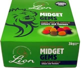 lions midget gems - in the box 3kg for £22.42!