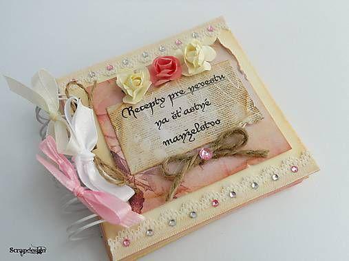 Mini knižka na recepty pre šťastné manželstvo