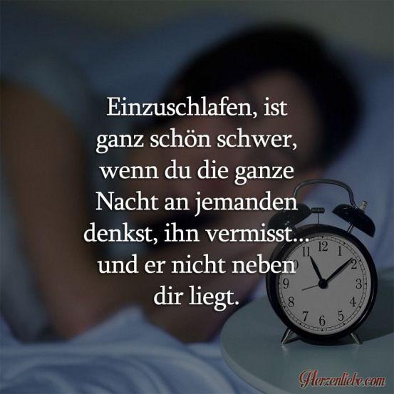 Einzuschlafen ist ganz schön schwer #relationship