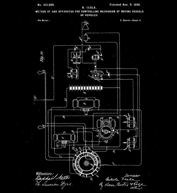 """On a rainy September day in 1898 Nikola Tesla presented at Madison Square Garden's first Electrical Exhibition a new invention that he called a """"teleautomaton"""". The invention was the first ever radio..."""