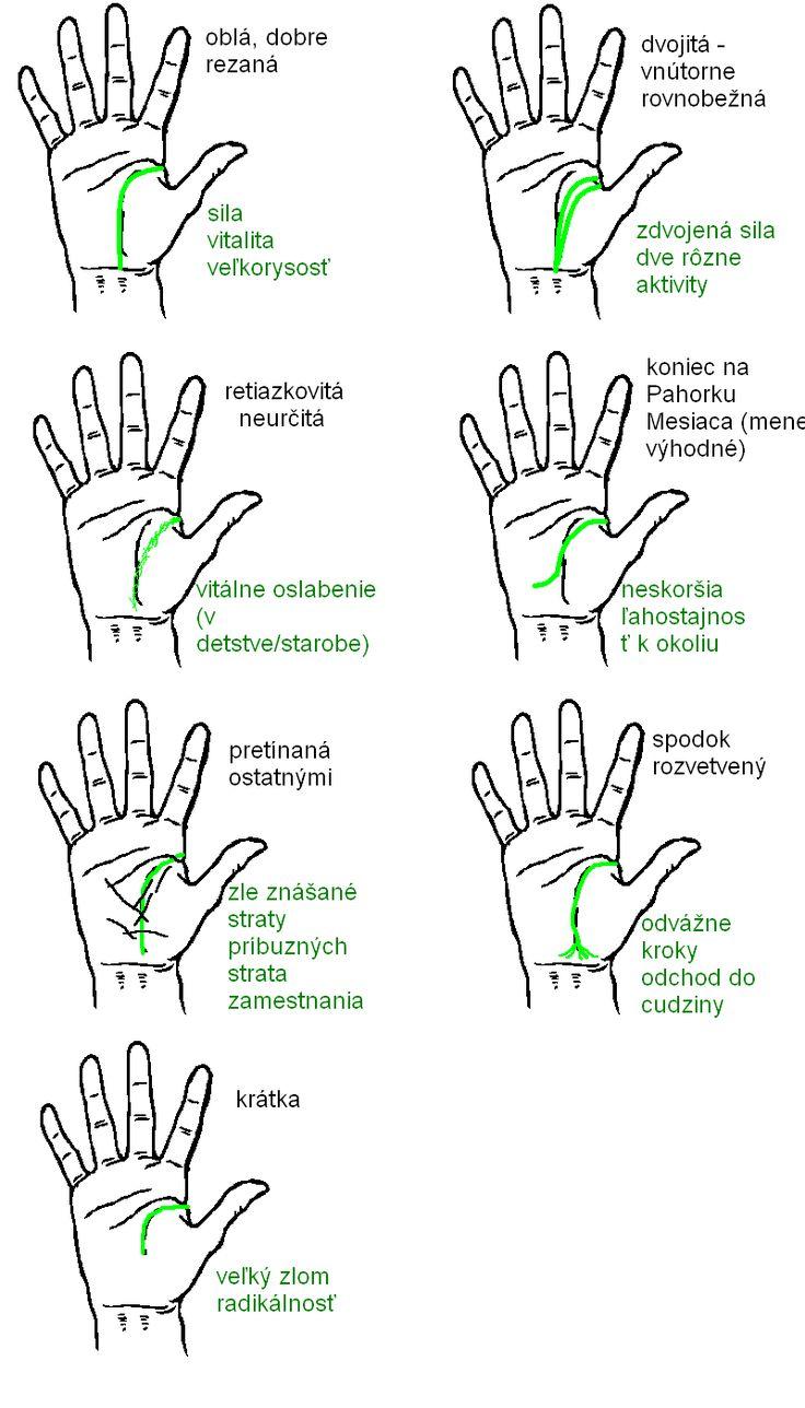 Chiromantia – Čiary ruky – Eldhwen