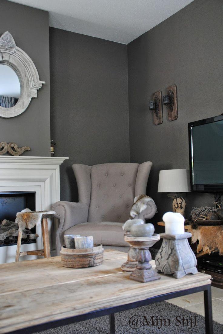 25 beste idee n over landelijke stijl meubelen op pinterest voetstuk een kamer huizen en - Kamer deco stijl ...